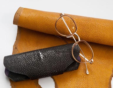 Glasses case Shagreen