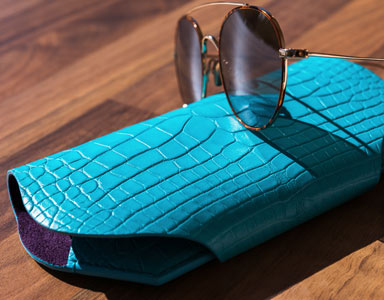 Glasses case Crocodile